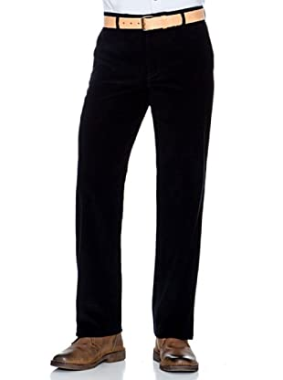 Dockers Pantalón Comfort de Pana (Negro)