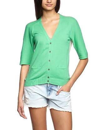 Turnover Cardigan (Verde)