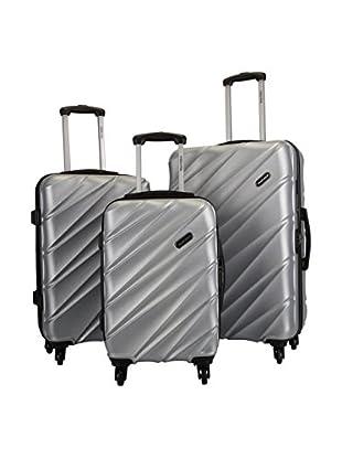 MURANO Set de 3 trolleys rígidos ASB