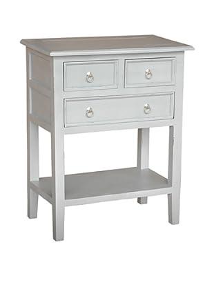 Jeffan Newton Side Table, Light Grey