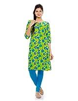 Naksh Jaipur Straight Kurta With Slit Neckline For Women