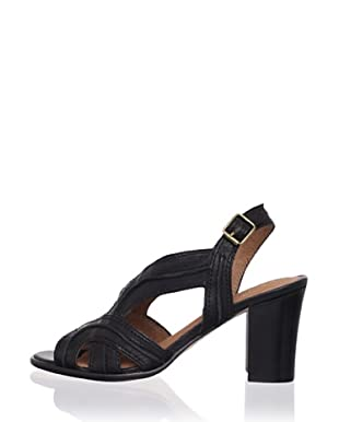 Corso Como Women's Da Vinci Slingback Sandal (Black Milan)