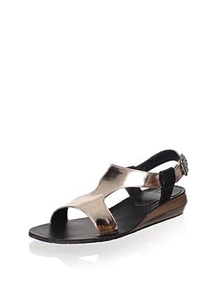 Kelsi Dagger Women's Galina Sandal (Pewter/Black)