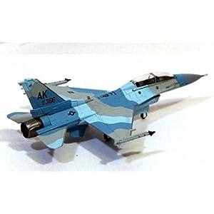 【クリックで詳細表示】1/200 F-16D アメリカ空軍 18TH AGRS 「ブルーフォクシーズ」AK366 「フラ (6313)
