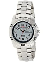 Timex Sports Analog Silver Dial Unisex Watch - T46601