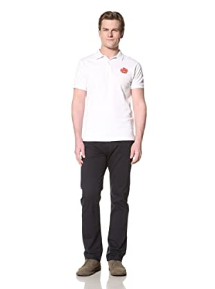 GANT by Michael Bastian Men's The M.B. Sun Embroidered Polo (White)