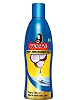 Meera Pure Coconut Hair Oil, 250ml