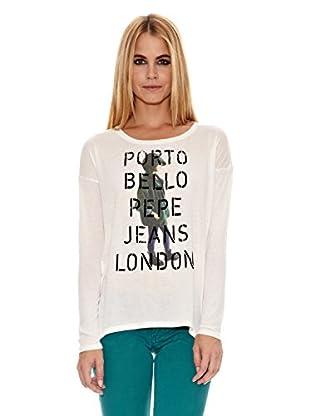 Pepe Jeans London Camiseta Glorie (Blanco)
