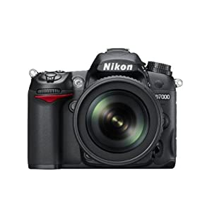 Nikon D7000 16.2MP Digital SLR Camera-Black