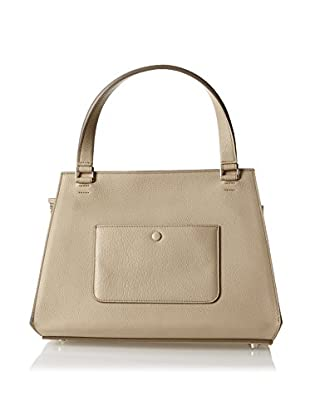 CELINE Women's Edge Satchel, Tan