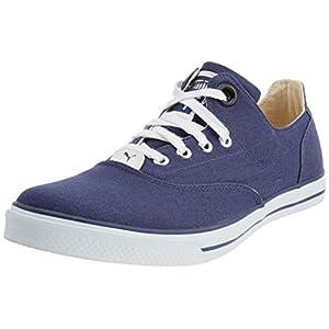 Puma Men's Limnos III Ind. Insignia Blue Canvas Sneakers - 4 UK/India (37 EU)
