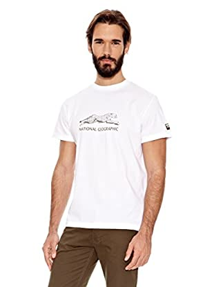 National Geographic Camiseta Cheetah (Blanco)