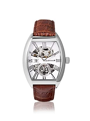 Earnshaw Men's 8015-02 Holborn Automatic Brown/White Watch