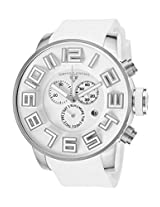 Airbourne Chronograph White Silicone And Dial (30425-02)