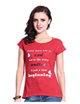Desire Shoppe Women's Cotton T-Shirt