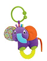 Winfun Timber the Elephant Hand Rattle, Multi Color