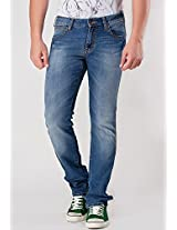 Low Rise Slim Fit Narrow Leg Blue Denim Wrangler
