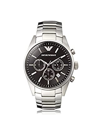Emporio Armani Men's AR2434 Silver/Black Stainless Steel Watch