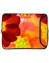 Designer Sleeves Spring Flower Sleeve for 10-Inch iPad/Tablet, Orange (10DS-SF)