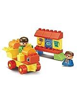 Sluban M38-B6022 Lego Amusement Park Building Block Toy, Multi Colour