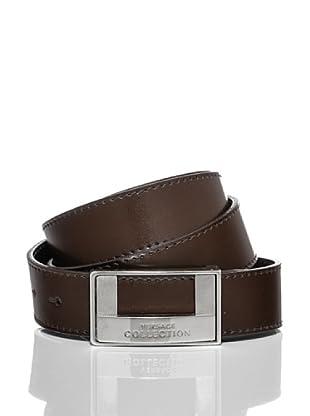 Versace Collection Cinturón Lutharo (Marrón)