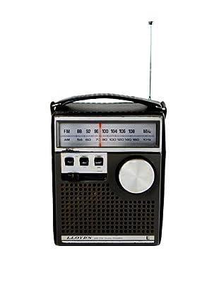 Vintage Lloyd's Radio, Black