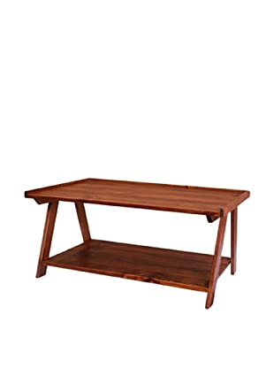 2 Day Designs Ladder Cocktail Table, Pine