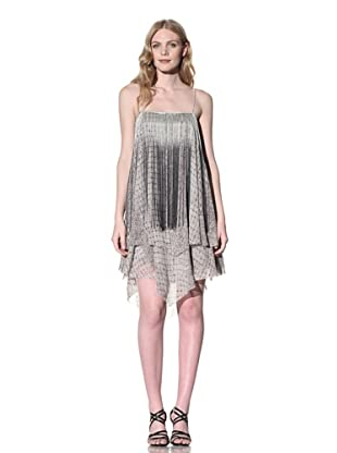 Sheri Bodell Women's Flyaway Dress with Dip-Dyed Fringe (Lilac)