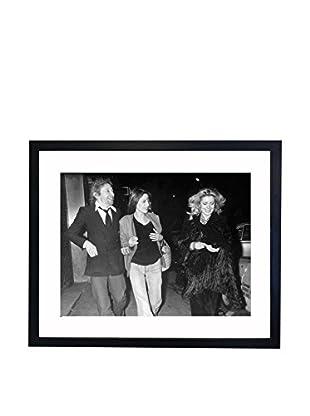 Mazali - Culture Décor Wandbild Serge Gainsbourg, Jane Birkin, Catherine Deneuve