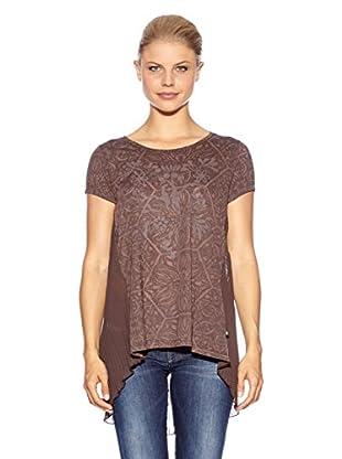 Anna Scott Camiseta Flex (Marrón)