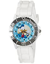 Disney Analog Multi-Color Dial Children's Watch - LP-1004 (White)