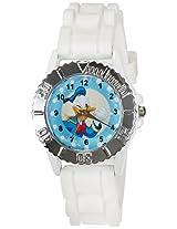 Disney Analog Multi-Color Dial Children's Watch - LP-1004 (White)