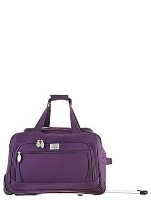 Ines De La Fressange Bolsa de Viaje Trolley Madeleine (Violeta)