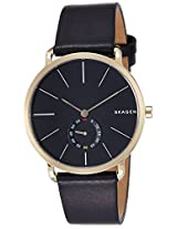 Skagen End-of-season Hagen Analog Black Dial Men's Watch - SKW6217I