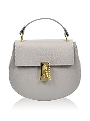 Carla Belotti Bolso asa de mano Handbag Vik Grey