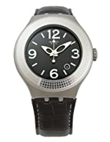 Swatch Analog Black Dial  Unisex Watch - YNS407