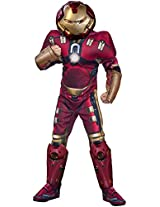 Rubie's Costume Avengers 2 Age of Ultron Child's Deluxe Hulk Buster Iron Man Costume, Medium