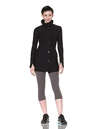 Beyond Yoga Women's Original High Neck Jacket (Black)