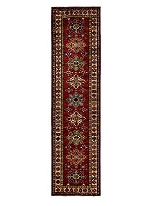 Darya Rugs Fine Kazak Oriental Rug, Red, 2' 6