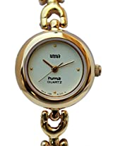 HMT Yellow Dial Analogue Watch for Girls (BLS 63)