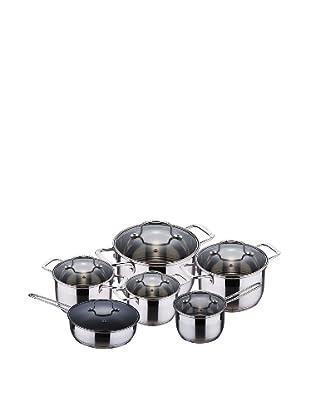 Blaumann Batería De Cocina De 12 Piezas Con Tapaderas
