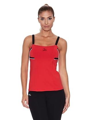 Naffta Camiseta Tirantes Blali (Rojo / Negro)