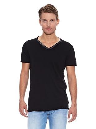 Salsa Camiseta Cancún Slim (Negro)
