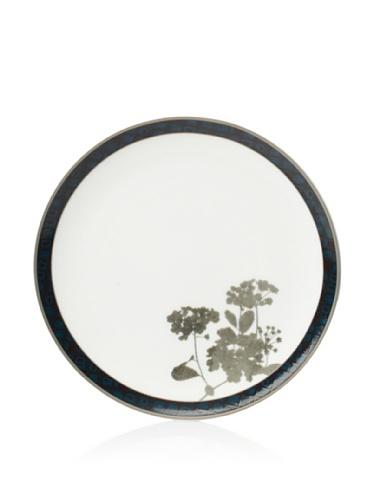 Noritake Set of 4 Everyday Elegance Verdena Coupe Bread Plates, Platinum, 6.75