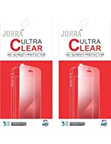 Johra Pack of 2 Clear HD Screen Scratch Protector For Samsung Galaxy J5