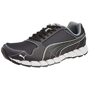 Puma Men's Kevler Runner Mesh Shoe-Black