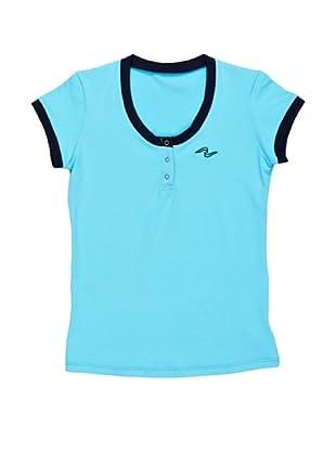 Naffta Camiseta Manga Corta Turino (Turquesa / Azul Marino)
