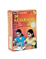 Do It Yourself DC Generator Electricity Educational Learning Toy Kit