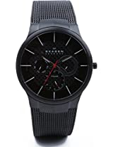 Skagen Aktiv Analog Watch - For Men Black - 809XLTBB