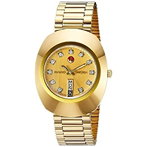 Rado R12413493 Gold Dial Watch